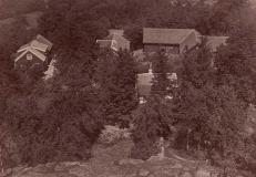 Algusered Särö. Bild 1917.
