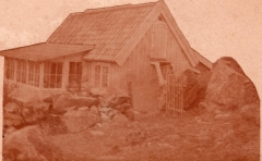 Algusered Särö. Bild 1918.