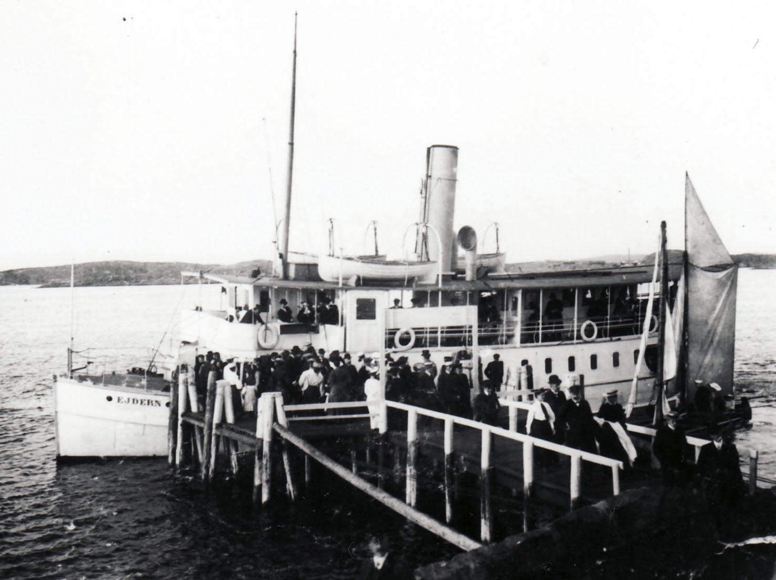 Ångbåt Särö. Bild 10106.