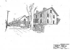 Statarhuset och Stallet Särö. Bild 11237.