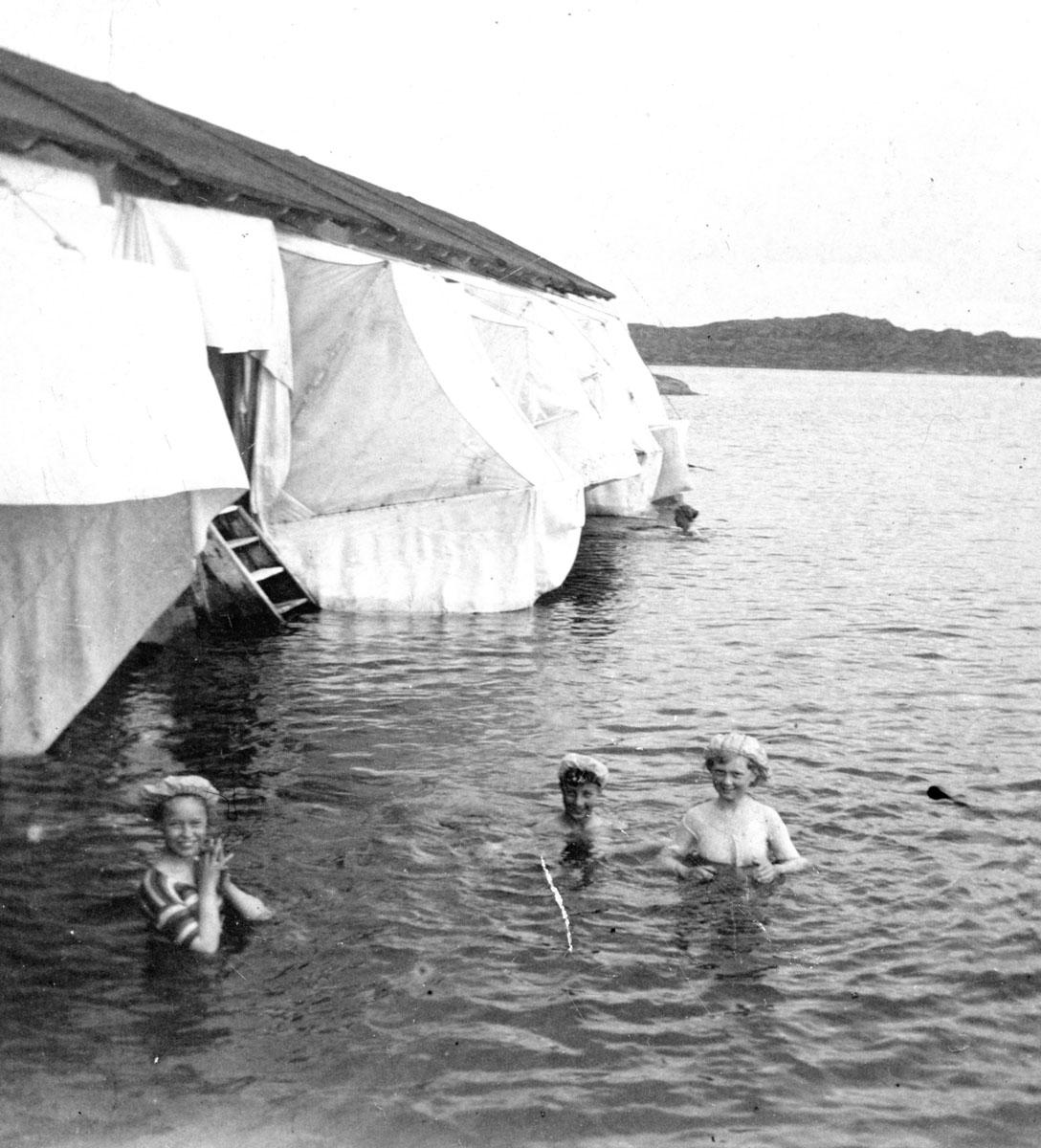 Bad Särö. Bild 3003.
