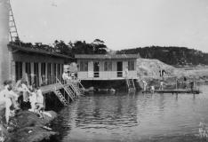 Badhus Särö. Bild 10471.