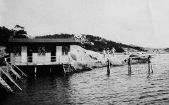 Badhus Särö. Bild 10473.