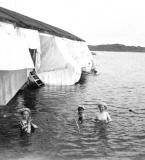 Badhus Särö. Bild 3003.