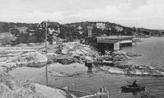 Badhus Särö. Bild 40066.