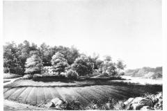 Drottinghuset och Skogshyddan. Bild 1621.