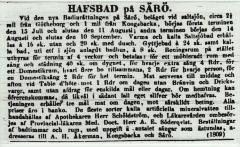 Annons Särö. Bild 10282.