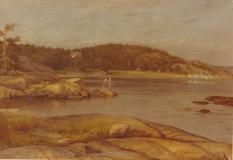 Lindholm Särö. Bild 11670b.