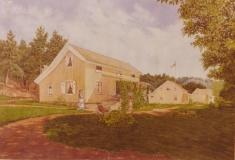 Hus i Sandviken Särö. Bild 11668.