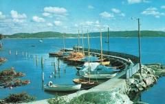 Särö båthamn. Bild 10137b.