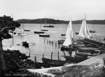 Särö båthamn. Bild 10641.