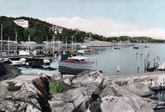 Särö båthamn. Bild 11532.