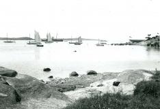 Särö båthamn. Bild 1407.