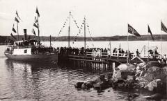 Bryggor Särö. Bild 10117.