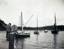 Bryggor Särö. Bild 10139.
