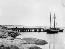Bryggor Särö. Bild 10194.