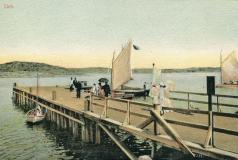 Bryggor Särö. Bild 40148.