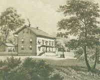 Drottninghuset Särö. Bild 1963.
