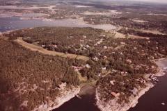 Flygfoto Särö. Bild 10670.