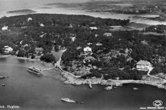 Flygfoto Särö. Bild 10704.