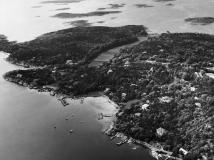 Flygfoto Särö. Bild 10667.