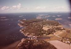 Flygfoto Särö. Bild 10668.