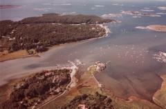 Flygfoto Särö. Bild 10672.