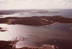 Flygfoto Särö. Bild 10674.