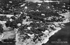 Flygfoto Särö. Bild 10703.