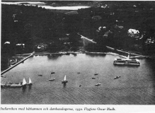 Flygfoto Särö. Bild 10708.