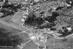Flygfoto Särö. Bild 1957.