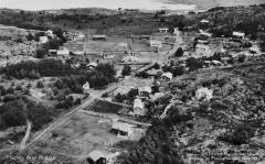 Flygfoto Särö. Bild 1958.