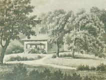 Fridhem Särö. Bild 1961.
