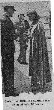 Greta Garbo Särö. Bild 2412b.