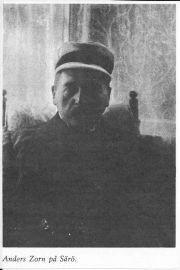 Anders Zorn på Särö. Bild 11735.