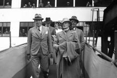 Greta Garbo kommer till Göteborg.