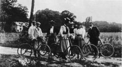 Cykelutflykt Särö. Bild 10893.