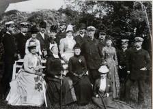 Utfärd till Backudden 1889. Bild 3099.