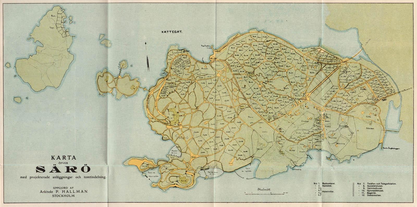 Karta av Hallman. Bild 10971.