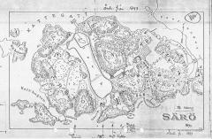Karta Särö. Bild 11149.