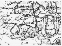 Karta Särö. Bild 11153.