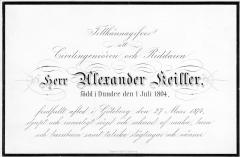 Alexander Keiller sr. Särö. Bild 1160.