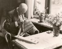 Gustaf V Särö. Bild 30045.