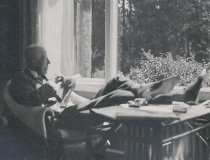 Gustaf V Särö. Bild 30073.