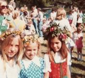 Midsommar Särö. Bild 1939.