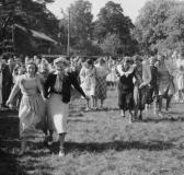 Midsommar Särö. Bild 1941.