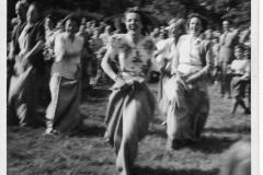 Midsommar Särö. Bild 1942