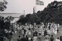 Midsommar Särö. Bild 2822