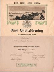 Skytte Särö. Bild 10083.