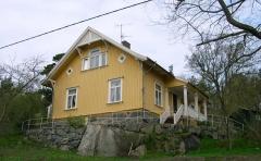 Kamrersvillan Särö. Bild 1920.
